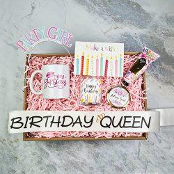 birthday queen hediye